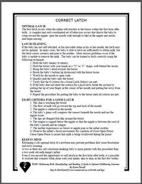 Correct Breastfeeding Latch Brochure